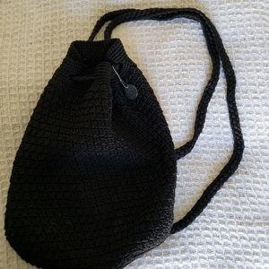 The Sak Black Nylon Backpack